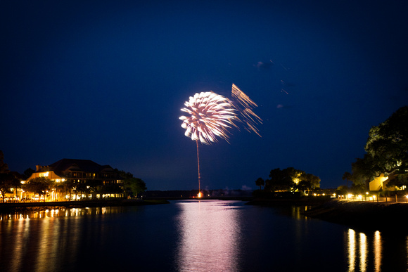 Shelter Cove Fire Works